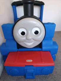 Thomas the tank engine bed. Little tikes