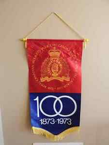 RCMP Centennial Banner  Mint condition