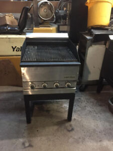 "18"" gas  Grill for restaurant's"