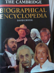The Cambridge Biographical Encyclopedia