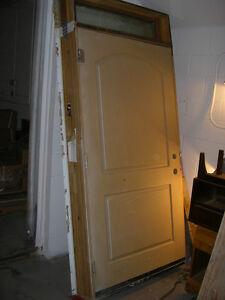 Extra Wide Fiberglass Exterior Door
