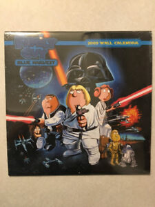"""FAMILY GUY - BLUE HARVEST"" 2009 Wall Calendar (Mint/Sealed)"