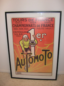 Own a piece of history for your wall! Cycling Vintage Posters