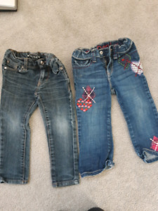 GUC Girl Size 2 Jeans