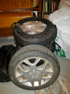 Perelli Snow sport tires with rims