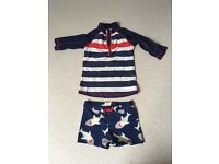 Boy's swim set age 6 years from John Lewis