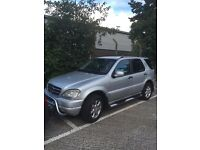 Mercedes ML 430 Auto. 1999 model. Family owned since 2005.