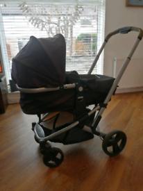 3n1 car Pram, Push chair and car seat.
