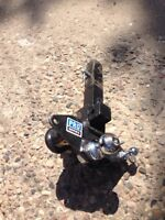 """Equalizer hitch with 2 5/16"""" ball"""