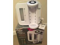 Tommee tippee perfect prep machine with box and instructioms