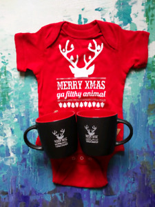 Locally made onesie / mugs