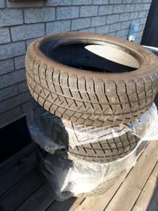 Snow tires.  225/55R18 Michelin Lattitude Alpin.  98H.