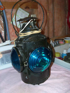 Antique Railway Lantern..Collectible...