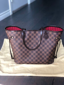 Louis Vuitton Neverfull MM in Damier Ebene