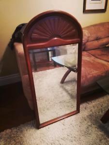 Beautiful arched sunburst mirror