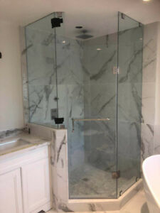 10mm Tempered Glass Shower Doors &Mirror &Stair