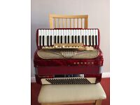 Hohner Accordion Musette 1V 120 bass