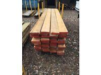 Timber pine used joists x 60.