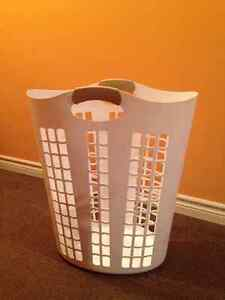 White laundry basket 3ft high