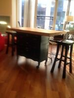 Kitchen island, moving sale