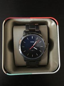 Fossil Men's Smoke Stainless Steel Watch FS5377