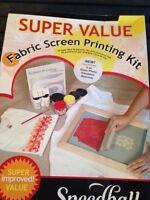Fabric Screen printing kit.