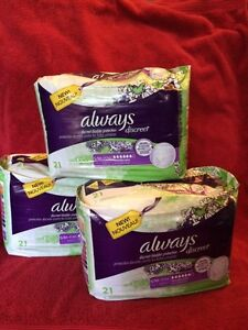 Always Discreet (bladder protection underwear)