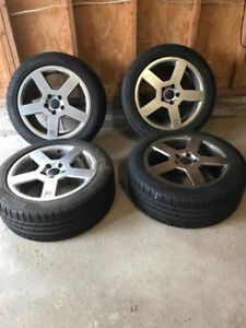 17 inch Pirelli Winter Tires and Rims