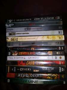 13 Horror DVD Movies