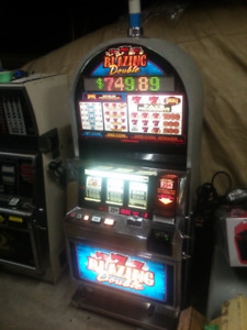 Bally Casino blazing sevens slot machine NEW Canadian bill
