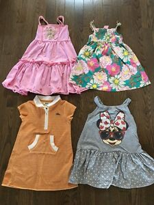 Girls 3T Summer Dresses- 4 for $10 Kitchener / Waterloo Kitchener Area image 1