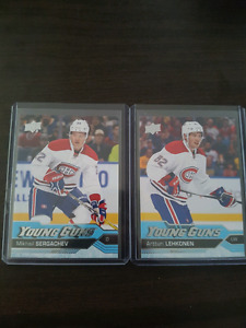 Montreal Canadiens rookie cards