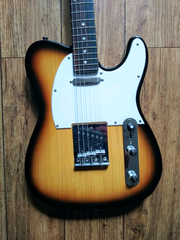 Harley Benton Telecaster - Tobacco Sunburst , As New | in Caldicot,  Monmouthshire | Gumtree