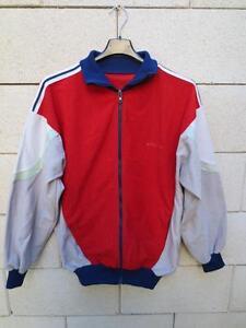 Vintage veste adidas laser rouge rare import usa ann es 80 180 l - Veste annee 80 ...