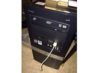 Hp dx2400microtower window 7(no English,easy fix free download online) perfect condition +monitor