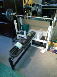 Bench Press avec rallonge pour Squat