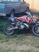 wanted  looking for a dirt bike to trade
