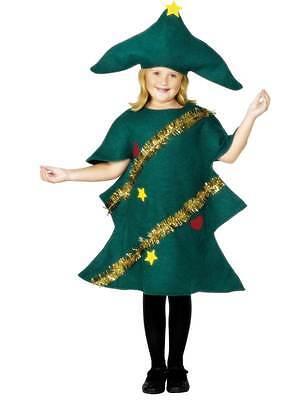 Albero di Natale Costume, Bambino, Vestito Natale, Grande Età 9-12, Unisex