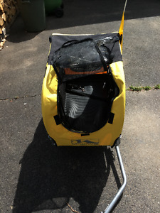 M-Wave Pet N' Go Bicycle Trailer, Yellow