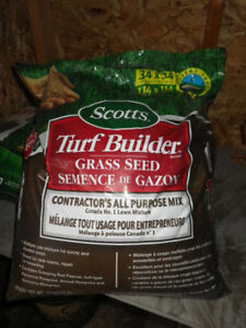 Scotts Turf Builder Contractor's All Purpose grass seed