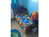 Pine wood Childs cot bed