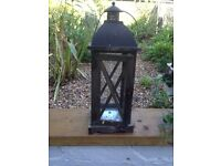 Outdoor lantern / candle holder