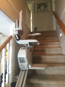 Electric stair chair