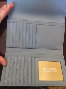 New Baby Blue Michael Kors Wallet