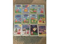 Peppa pig bundle DVDs