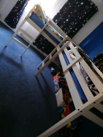 2 mid sleeper beds
