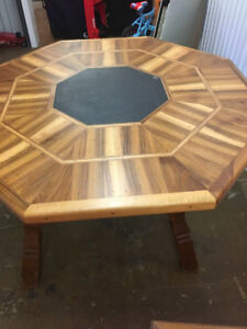 Teak Style solid wood Table and Chairs