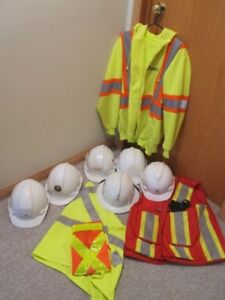 Hard Hats and Safety Wear
