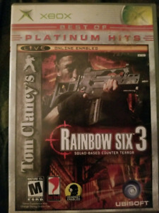 Rainbox Six - Xbox original - Tom Clancy's