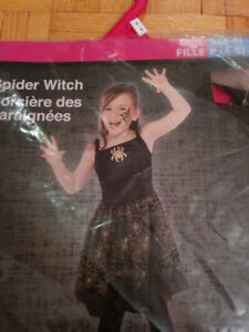 HALLOWEEN COSTUME - NEW: SPIDER WITCH COSTUME - $20 CASH, NO TAX